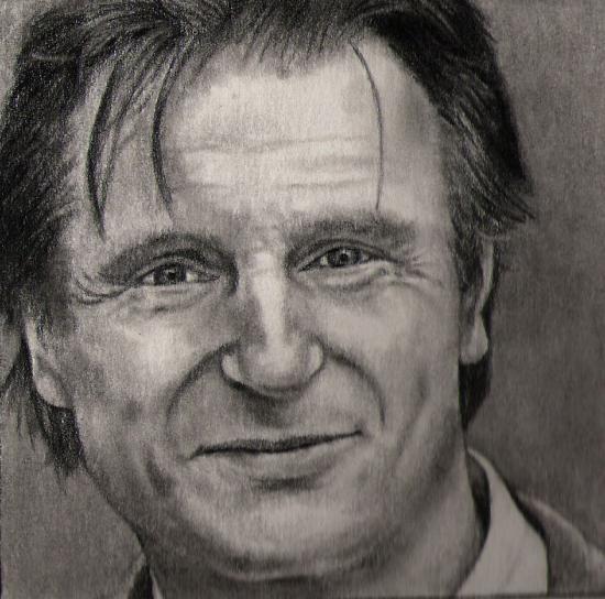 Liam Neeson por silenthero1
